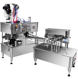 دستگاه تری بلوک دوغ و مایعات توان صنعت - 1
