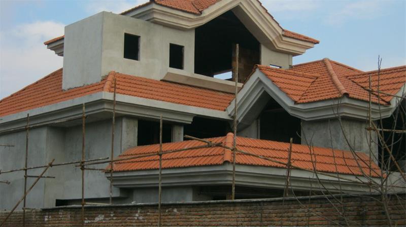 سقف شیبدار ، آردواز ، خرید و فروش مصالح شیروانی - 1