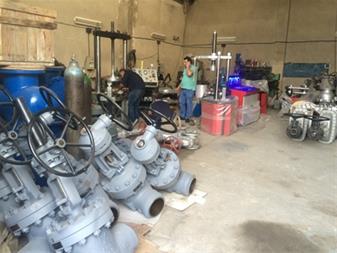 تعمیر و تست شیرآلات - تست و تعمیر شیرهای اطمینان - 1