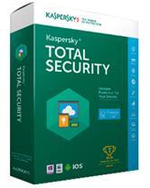 فروش آنتی ویروس  Kaspersky Total Security 2017