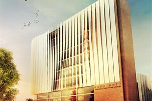 معماری و اجرای مجتمع مسکونی