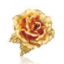 گل سر و  سینه روکش طلا