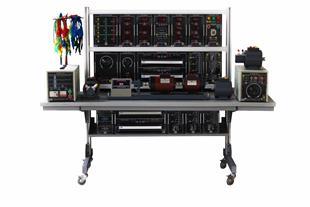 مجموعه آموزشی ماشین های الکتریکی قابل اتصال به PC