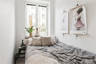 چگونه اتاق خواب کوچک بزرگتر به نظر برسد؟
