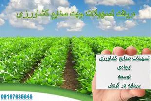 اخذ تسهیلات سریع و آسان جهت صنایع کشاورزی