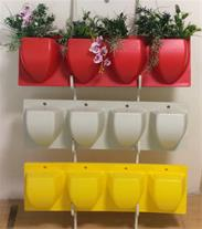 گلدان پلاستیکی در انواع رنگ ها