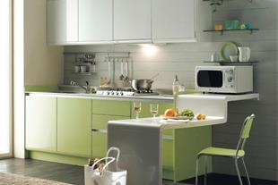 صفحات کوارتز برای دکوراسیون آشپزخانه - 1