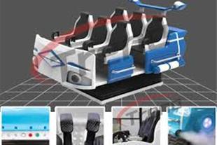 سیمیلاتور 9 بعدی واقعیت مجازی صنایع رباتیک