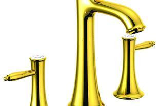 شیرالات بهداشتی توکار طلایی طراحی خاص - 1