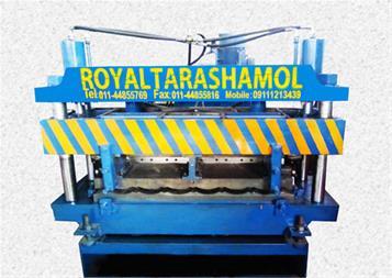 ساخت و تولید دستگاه رول فرمینگ پرچین - 1
