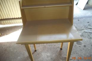 میز مطالعه  یک نفره کاملاً چوبی