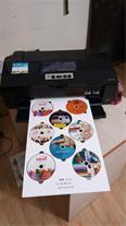 پرینتر چاپ روی CD و DVD - همزمان 8 سی دی - دست دوم