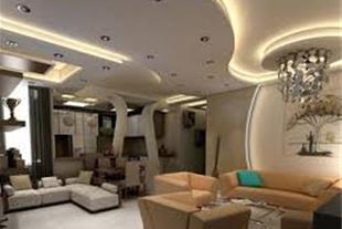 طراحی و اجرای معماری داخلی ، سقف - نما