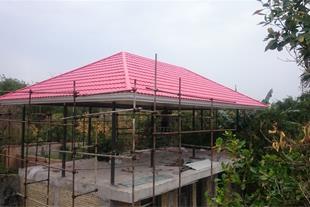 طراحی و اجرای انواع سقف شیروانی آردواز وکاذب