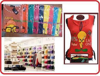 فروش عمده لباس زنانه - پخش لباس بچه گانه و مردانه - 1