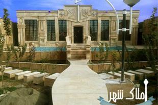 1200 متر باغچه با بنای بسیار لوکس در شهریار - 1