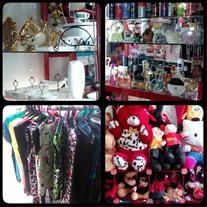 فروش پوشاک زنانه ، عروسک ، لوازم آشپزخانه