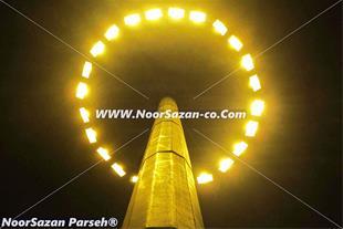 برج روشنایی باسبدمتحرک