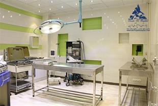 بخش پرندگان و جوندگان بیمارستان دامپزشکی درین