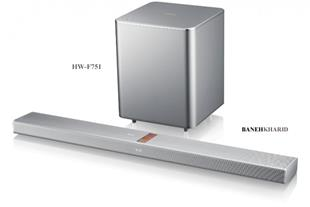 ساندبار بلوری 3D بی سیم سامسونگ مدلHW-F751
