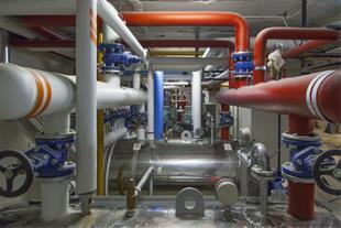 راه اندازی و تعمیر و نگهداری موتورخانه مرکزی