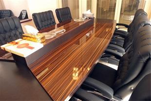 سازینه چوب تولید کننده پارتیشن و مبلمان اداری - 1
