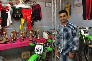 نمایشگاه و فروشگاه موتورسیکلت مصطفی برکت رضایی