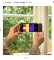دوربین حرارتی موبایل Flir one