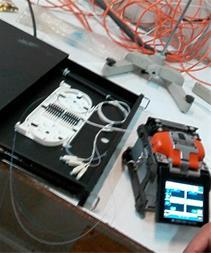 فیوژن بندی فیبر نوری دستگاهای سومیتومو و فوجی - 1