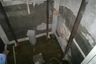 آب بندی چاله آسانسور