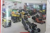 فروش و تعمیر ماشین آلات باغبانی و راهسازی