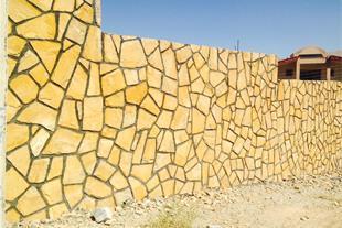 سنگ مالون زرد ، نما سنگ،سنگ لاشه - 1