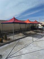 اجرای سقف شیروانی - سقف شیبدار آردواز - 1