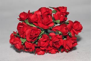 گل رز کاغذی ساده