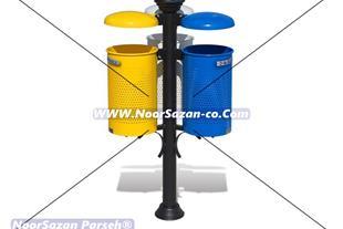 سازنده سطل زباله پارکی ، سطل زباله تزئینی