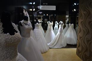 دوخت فروش اجاره لباس عروس لباس نامزدی لباس شب - 1