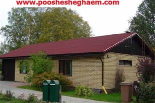 اجرای سقف ، ورق پوشش سقف شیب دار آندولین و آندوویل - 1