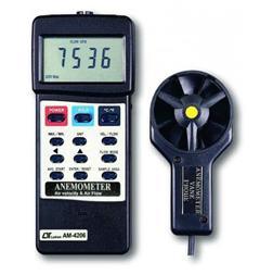 سرعت سنج باد فلومتر پراب جدا مدل LUTRON AM-4206 - 1