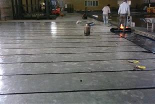 ایزوگام و عایق کاری و نصب در پشت بام وسرویسها