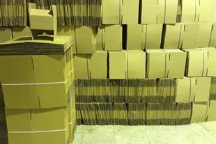 تولید کننده انواع کارتن های 3 و 5 لایه