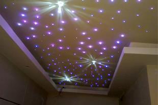 طراحی و نصب نورپردازی و فیبر نوری در قزوین
