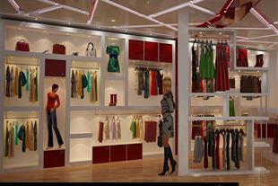 طراحی دکوراسیون و معماری داخلی مغازه