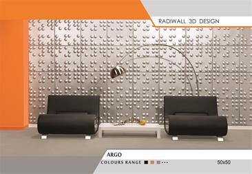 دیوارپوشهای تمام چرم رادیوال مدل ARGO