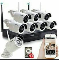 فروش ونصب انواع دوربین مداربسته درکاشان