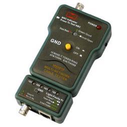 تستر کابل شبکه ارزان ,BNC مدل MASTECH MS6810 - 1