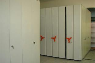 فروش قفسه فلزی ریلی ، کمد اسناد ، کمد بایگانی دوار