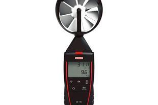 فلومتر ،سرعت سنج هوا با پراب پره ای مدل KIMO LV130