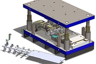 طراحی انواع قالب های فلزی - قالب سازی