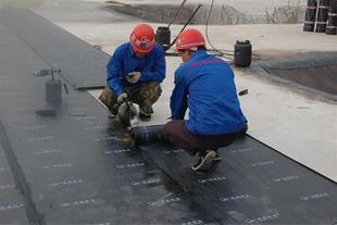 اجرای قیرگونی پشت بام ، - 1