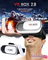 پکیج کامل هدست واقعیت مجازی vr box2 به همراه ریموت